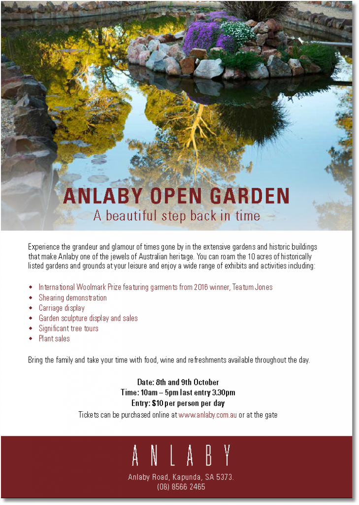 Anlaby Open Garden 8th & 9th October 2016