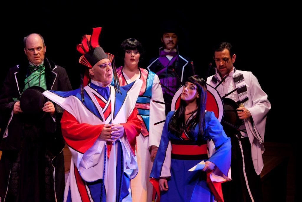 Anlaby performance of The Mikado 5th March 2016