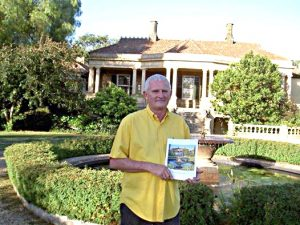 Peter Hayward poses with the new book 'Anlaby A Beautiful Step Back in Time'