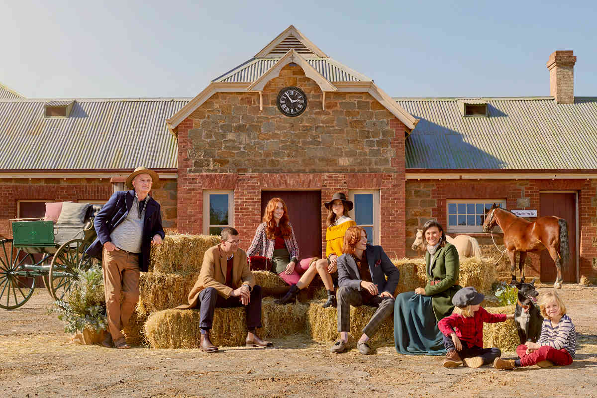 Anlaby Wool - Westfield Winter Fashion - Group Shot