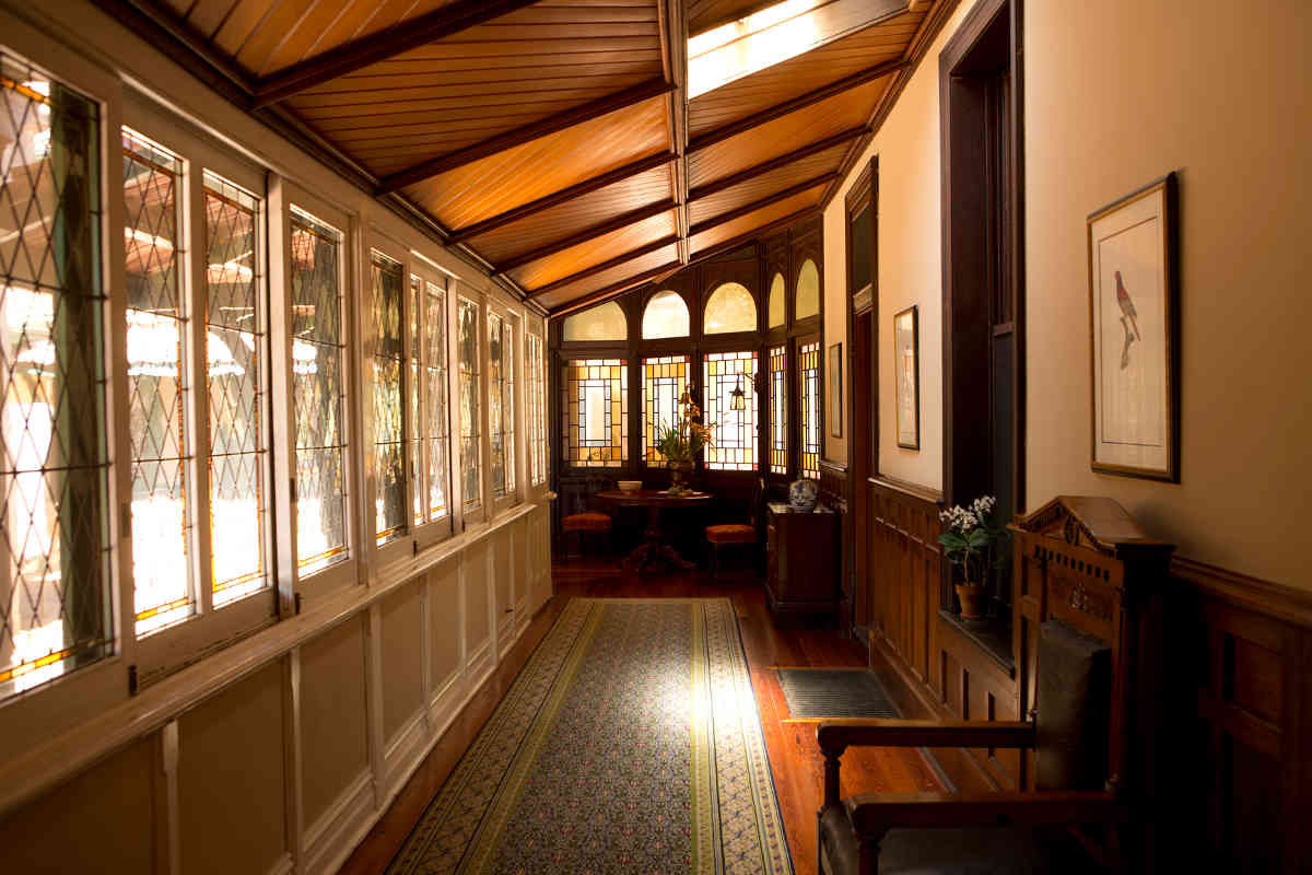 A Magnificent Enclosed Verandah at Anlaby Homestead