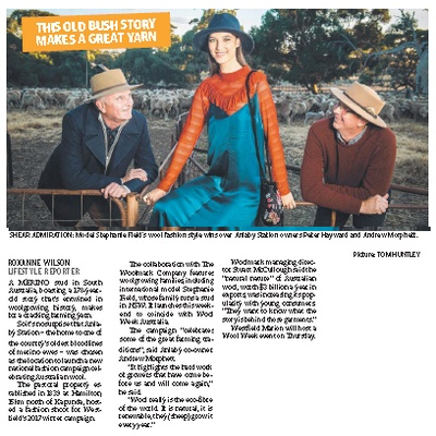 Anlaby Station in the Adelaide Advertiser - This Old Bush Story Makes a Great Yarn