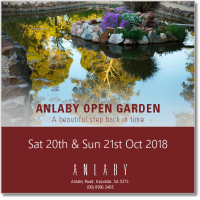 Anlaby Announce 2018 Open Gardens for 20th-21st Oct