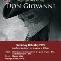 Anlaby Presents Don Giovanni – a Co-Opera Production Sat 18th May 2019 – CANCELLED