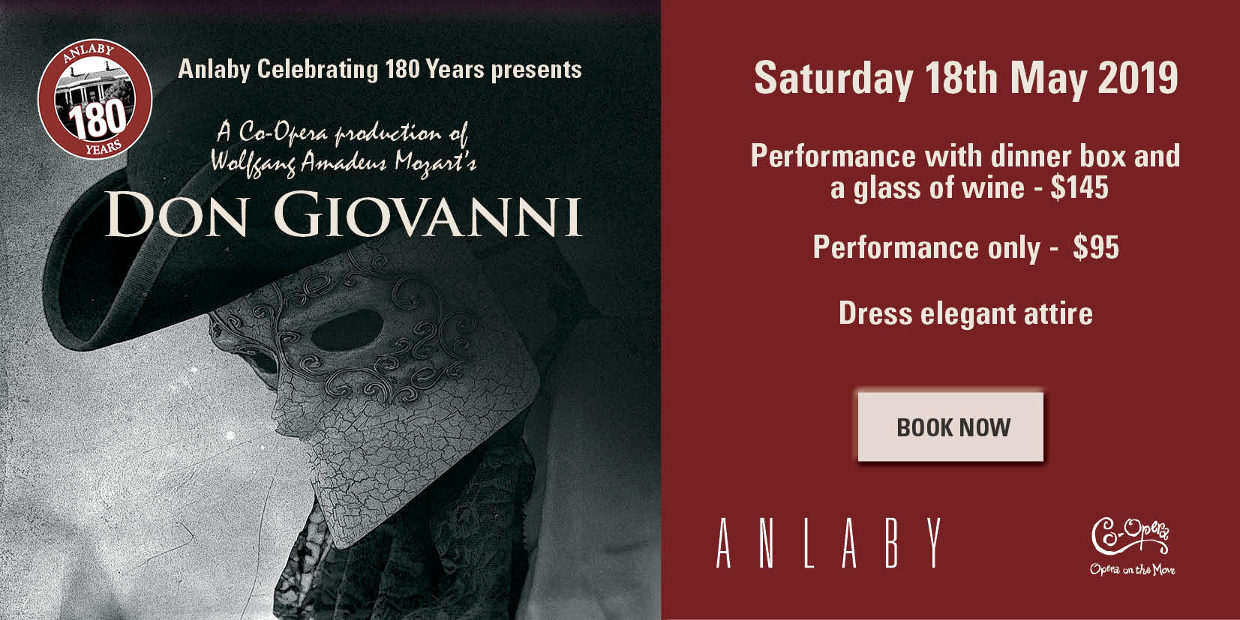 Anlaby Presents Don Giovanni - a Co-Opera Production Sat 18th May 2019